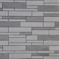 Silver Grey Random Pattern