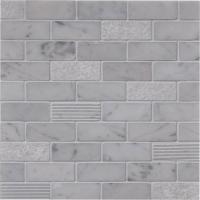 Statuary Design Brick Pattern